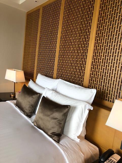 コンラッドサムイのベッドルーム