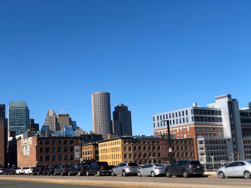 美しいボストンの街並み