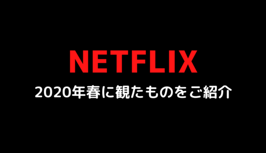 Netflixでお家時間【おすすめ・海外ドラマ&映画】2020年春にアラフィフが観たものをご紹介